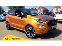 2018 Ford EcoSport 1.5 TDCi ST-Line 5dr (Availabl Manual Diesel Hatchback