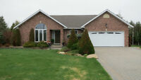 Beautiful all brick Hanmer home on 1 acre property