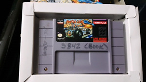 Super nes Battle Cars with box
