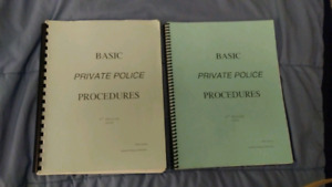 Basic Prive Police Procedures 4th Edition 2009