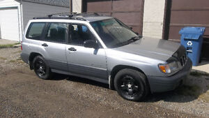 2002 Subaru Forester AWD,Good Tires,runs and drives great $2500