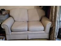 Two seater sofa. Good condition although one cushion needs a little tlc. Free to collector.