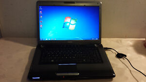 "Used 17"" Toishiba Dual Core Laptop with HDMI and Webcam for Sale"