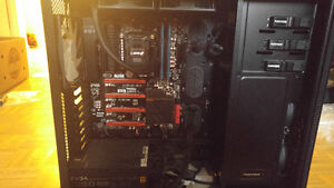 I7 4790k, Evga Z97FTW and 16gb G.Skill Ares Ram