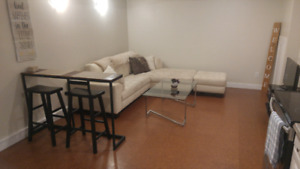 FULLY FURNISHED - 1 Bedroom Basement Suite NEAR DOWNTOWN KELOWNA