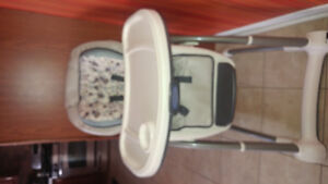 For sale baby chair and baby crib