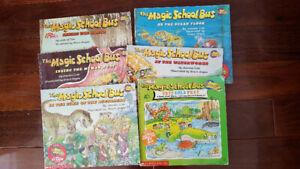 Robert Munsch & Magic School Bus Books
