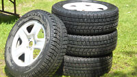 For Fast Sale - Used Winter Tire Set -- 235/60/R17