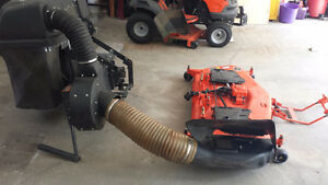 Kubota BX Mower Deck and Grass Catcher Attachments