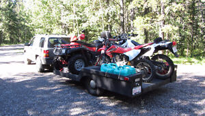 ATV / Quad Trailer Capable of carrying two 2UP Quads