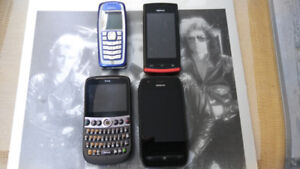 4 Vintage Cell Phone