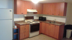A beautiful basement apartment in Rexdale available immediately