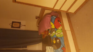 Captain bed and armoir for sale