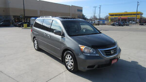 2008 Honda Odyssey, EX-L, 8 Pass, Leather, 3/Y warrant available