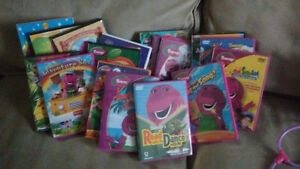 Collection of Barney DVD'S