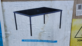 Outdoor garden table, NEW in box, QUICK SALE