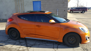 2013 HYUNDAI VELOSTER TURBO 6 SPEED ONE OWNER GREAT SHAPE