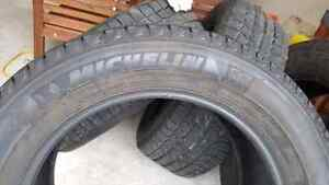 4 Winter tires Michelin x-ice 275/55/20 like new  $800 for 4