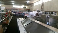 17,000 Sq Ft. Showroom with Kitchen Equipment, New and Used