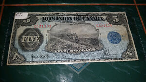 1912 train note very very RARE!! in great condition for its year London Ontario image 1