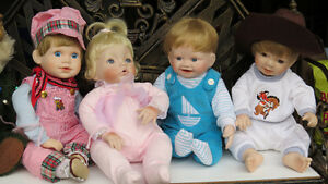 Collectible Dolls and Annette Funicelo Bears
