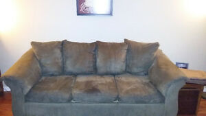 Stain-guarded couch