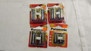 batterie pile neuve   panasonic alkaline   a t d s l p c
