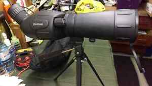 Bushmaster spotting scope, like new with case