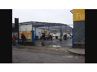 HAND CAR WASH SITE OR PARKING , LAND WANTED