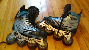 Patins à roulettes roller hockey