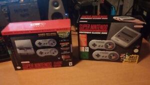 SNES Classic Mini new in the box