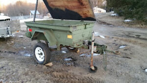 Rare CDN M101 Military offroad or camping trailer with upgrades
