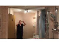 Large Wall Mirror 140cm wide x 106cm long