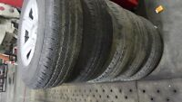 p225/75/16 jeep tires and rims