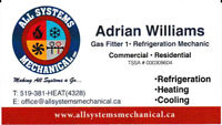 Heating, cooling and refrigeration
