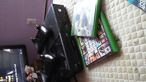 xbox one with gtav and cod