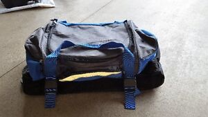 Soft walled wheeled sports bag or luggage