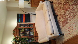Antique camelback sofa