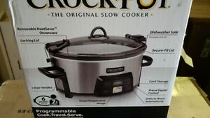 Brand New Programmable Crock Pot with heat guage