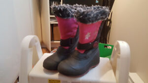 Bottes d'hiver fille taille 2
