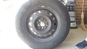 235/65/R17 Snow Tires with Rims