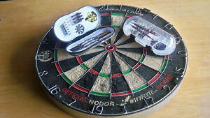 DARTS AND BOARD