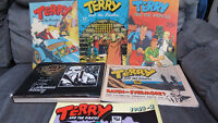 Terry and the Pirates by Milton Caniff Saint John New Brunswick Preview