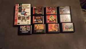 For sale all sega games in the picture