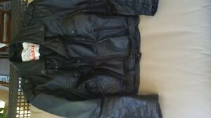 Angora Mens Motorcycle Jacket - XL