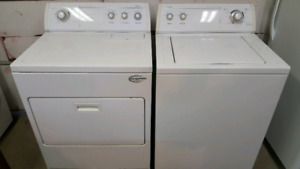 WHIRLPOOL.. FULL SIZE WASHER AND DRYER..