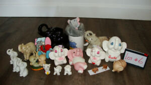 Éléphants de collection