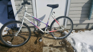 Ladies 18 speed bike