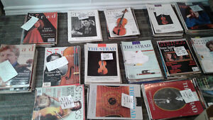 Strings And Strad violin/fiddle magazines. Stratford Kitchener Area image 1