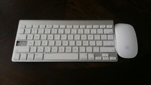 Wireless Apple Magic Mouse & Wireless Keyboard for Sale